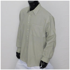 *MEN* KASPER, Button up Shirt, size Large 16.5